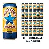 Newcastle Brown Ale 24x 500ml DAS ORIGINAL Alc. 4.7% vol.