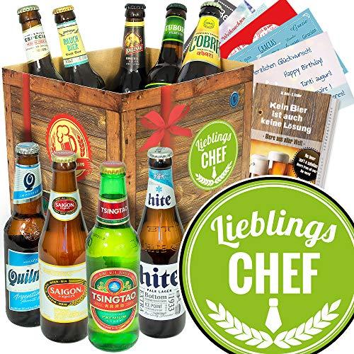Lieblings-Chef/Biere aus aller Welt/bester Chef der welt Geschenke