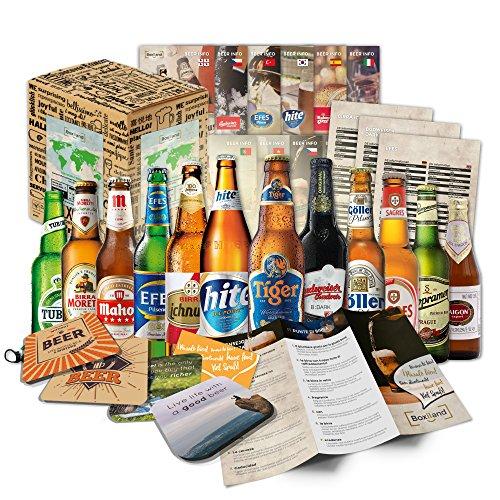 Biere der Welt (12 Flaschen) internationale Bier Spezialitäten zum verschenken - Beste Biere der...