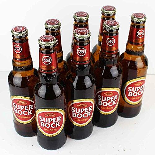 Superbock - 8 x 0,33l - Bier aus Portugal - von.BierPost.com