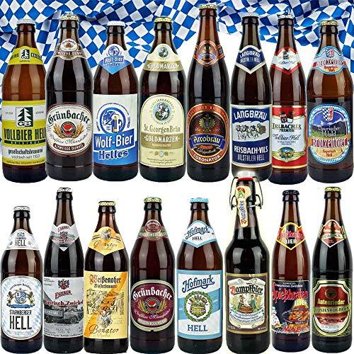 16er Bierset - BIERLAND BAYERN - von BierPost.com (Abbildung ähnlich)