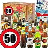 Geschenke Mann zum 50. - Geschenke zum 50. Geburtstag - Bier Paket Welt