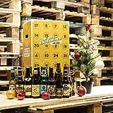 Bier Adventskalender 24 Flaschen verschiedene internationale Biere aus aller Welt als Geschenkbox...
