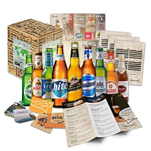 Bier Geschenk Set mit ausländischen Bieren Geburtstagsgeschenk für Freund Geburtstagsgeschenk für...