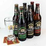Sankt Jaro - 6 Flaschen PROBIERSET - aus Tschechien 3 Sorten je 2 x 0,5l plus 1 Glas 0,5l -...
