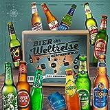 Die Bier Weltreise Box mit 12 Flaschen á 0,33l