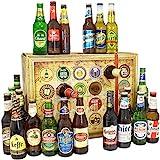 Bier Adventskalender Welt mit Saigon Export + Polar + Peroni + Quilmes Dark Lager + Estrella + mehr...