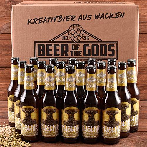 WACKEN BRAUEREI Pils, kaltgehopft Craft Beer Box 18 x 0,33 l Flasche | MJÖLNIR | Viking Craftbeer...