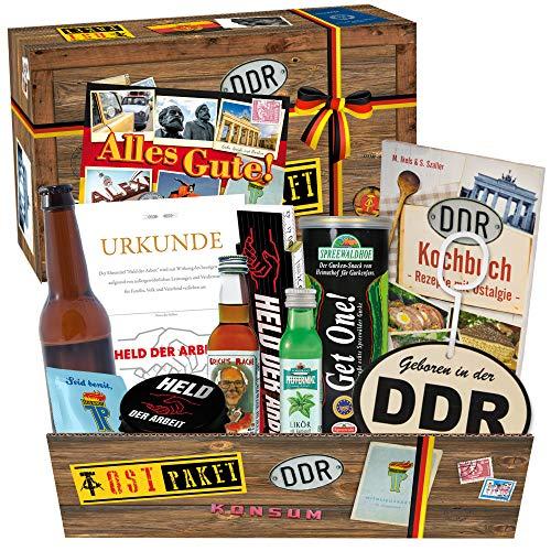 Geschenkbox aus dem Osten / Geschenkidee Geburtstag für Männer