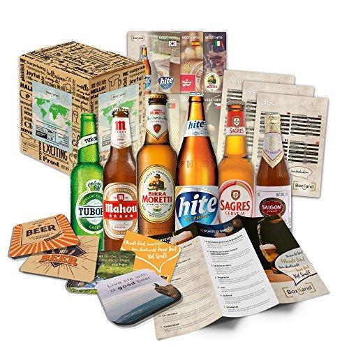 Kleine Bier Weltreise Geschenkidee für Bruder Geschenkidee Bruder zum Geburtstag schöne...