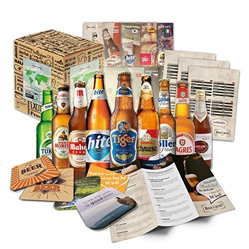 Geschenkbox-Bier-Weltreise/romantisches Valentinstag Geschenk für Freund Ihn Mann Männer