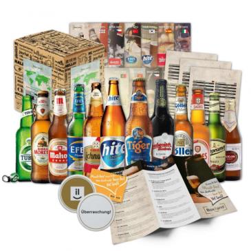 Bierpaket Weltbierbox