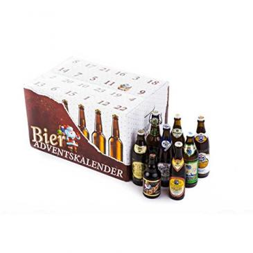 Bier Adventskalender Bayerische Biere
