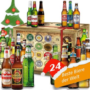 Bier-Adventskalender Biere der Welt