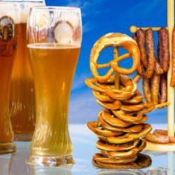 Bier Geschenkset Hirschbräu: Grüße aus Bayern
