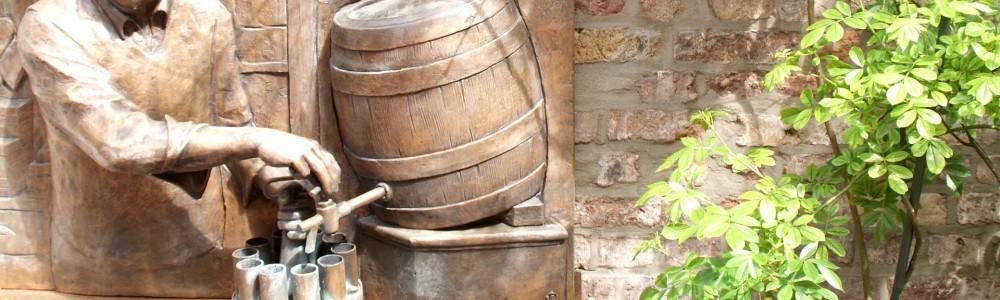 Geschenkidee Bier-Partyfässer Löwenbräu